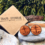 recycled lobster trap cufflinks