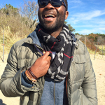 leather nautical bracelets worn by David Oyelowo