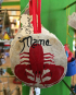 sand dollar lobster ornament